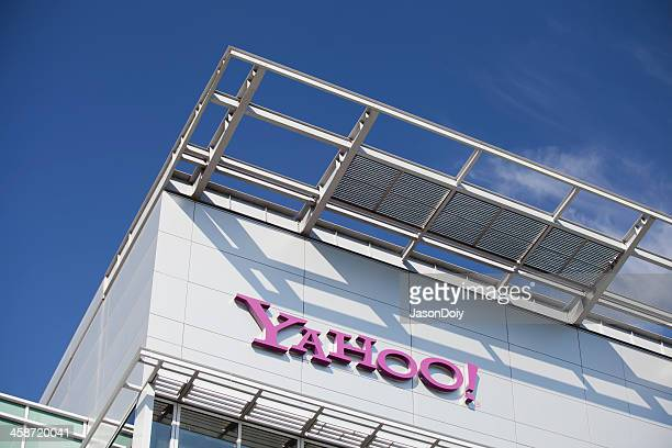 yahoo headquarters - yahoo brand name stock pictures, royalty-free photos & images