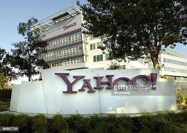 Yahoo Inc corporate headquarters is seen in Sunnyvale California on Tuesday October 18 2005 Yahoo Inc the world's mostvisited Web site will probably...