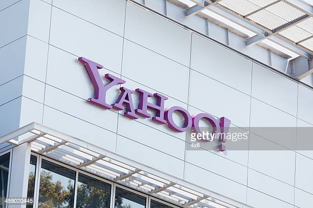 yahoo inc in sunnyvale, california - brand name stock pictures, royalty-free photos & images