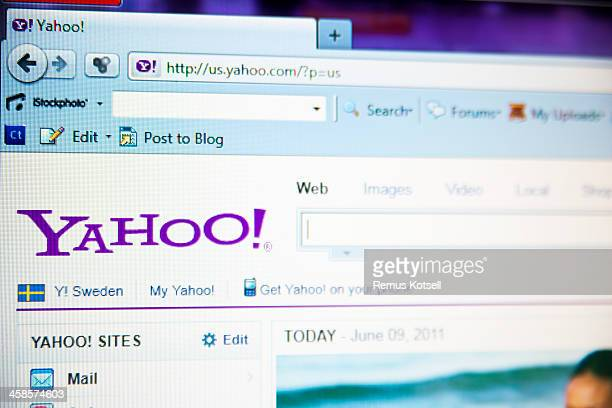 yahoo - yahoo brand name stock pictures, royalty-free photos & images