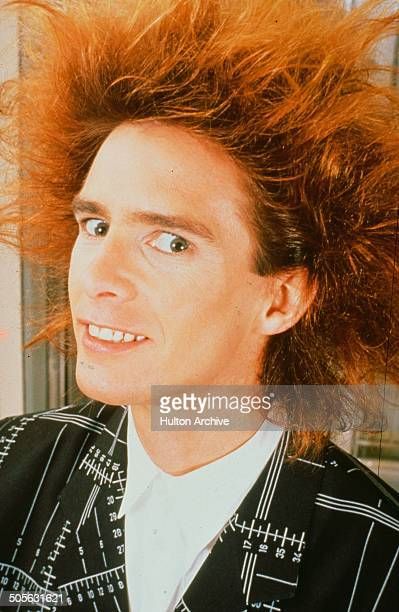 Yahoo Serious poses for the Warner Bros movie 'Young Einstein' circa 1988