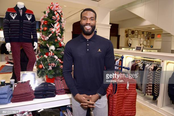 Yahya AbdulMateen II attends as Brooks Brothers celebrates the holidays with St Jude Children's Research Hospital on December 12 2017 in New York City