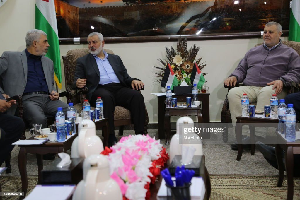 Meeting with the Palestinian factions in Gaza City