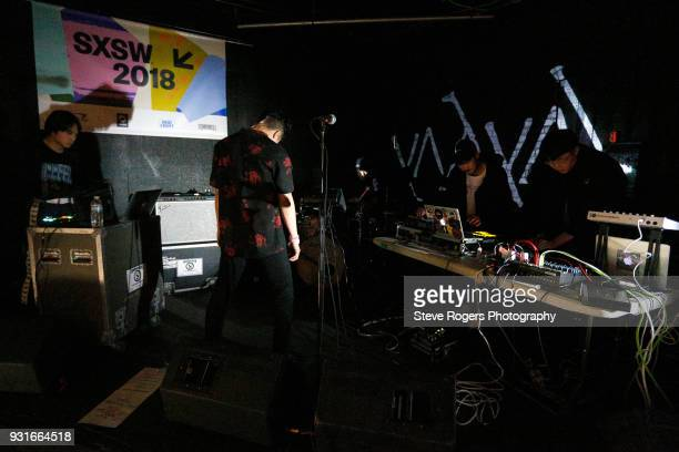 Yahyel performs onstage at the Music Opening Party during SXSW at The Main on March 13 2018 in Austin Texas