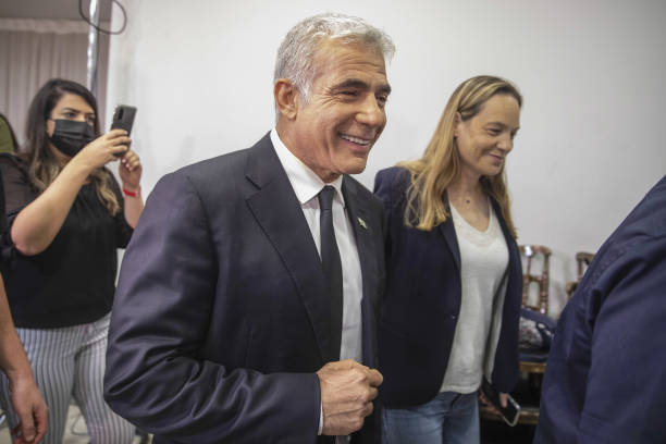 ISR: Yesh Atid Party Leader Yair Lapid News Conference