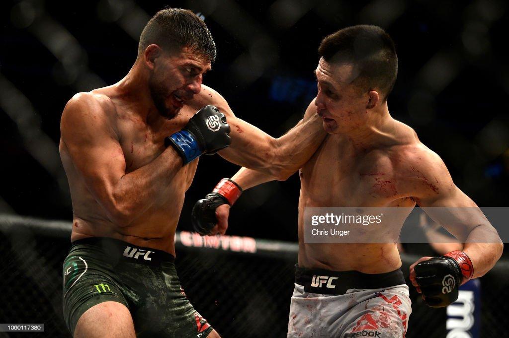 UFC Fight Night: Korean Zombie v Rodriguez : News Photo