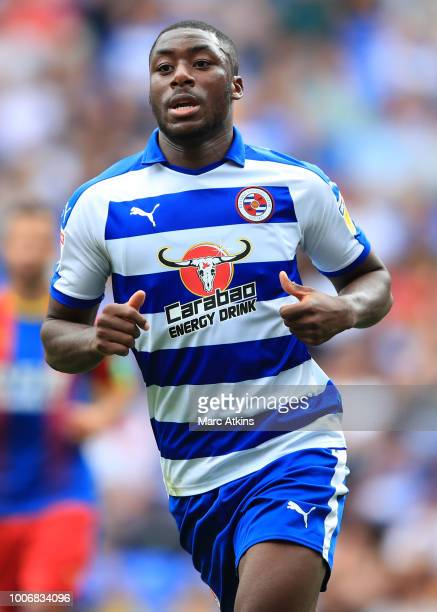 Yakou Meite of Reading during the PreSeason Friendly between Reading and Crystal Palace at Madejski Stadium on July 28 2018 in Reading England