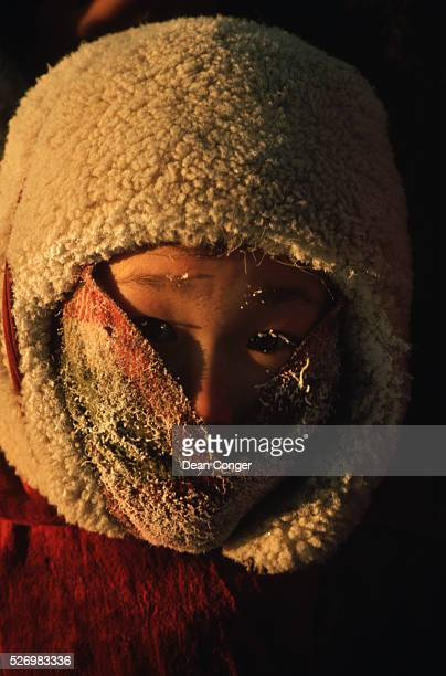 Yakut Child Wrapped Up Against the Cold
