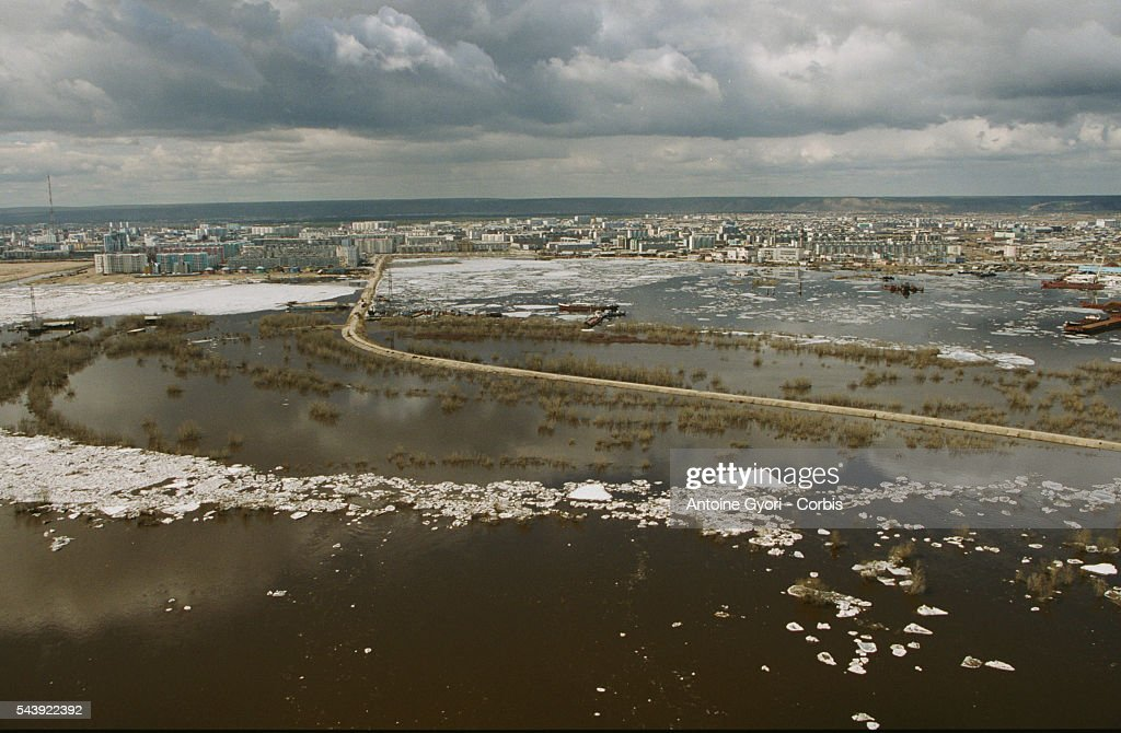 SIBERIA: FLOODS : News Photo