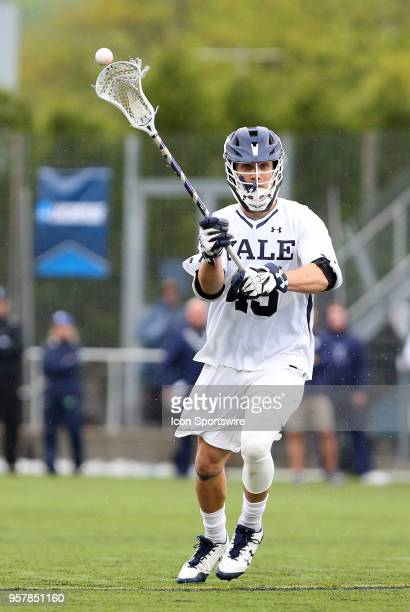 Yale Bulldogs midfielder Jason Alessi during the first round of the NCAA Division I Men's Championship match between UMass Minutemen and Yale...