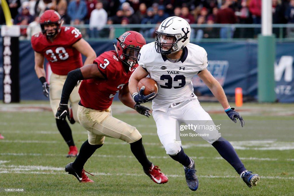 COLLEGE FOOTBALL: NOV 17 Yale at Harvard : News Photo