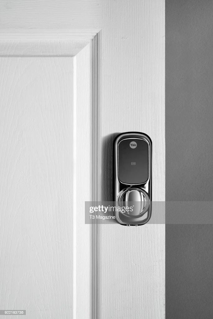 A Yale Keyless Connected smart lock, taken on July 14, 2017.