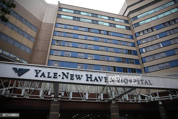 Yale New Haven Hospital in New Haven, Connecticut. Officials say that Yale-New Haven Hospital is waiting for test results on a patient who recently...