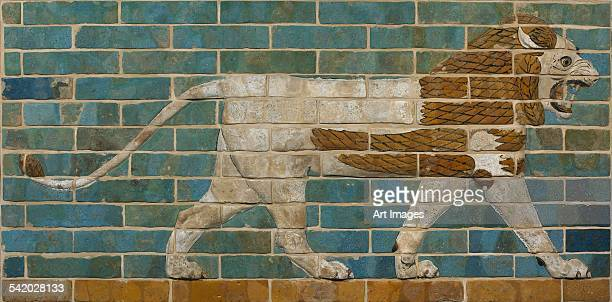 Lion Relief from the Processional Way in Babylon, c.605-562 BC