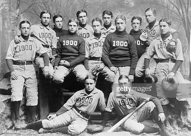 Yale University Baseball Team Photo