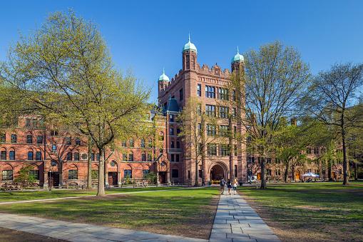 Yale university buildings - gettyimageskorea