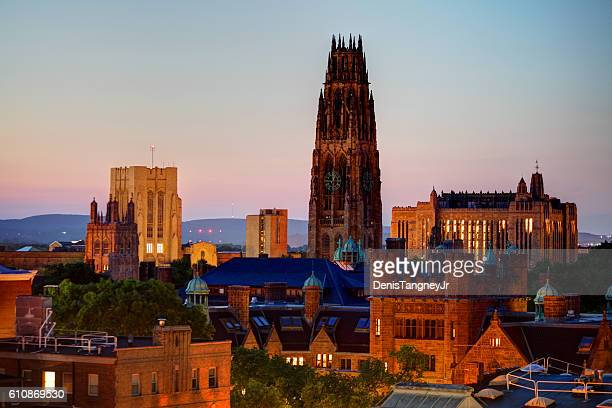 yale university - ivy league university stock photos and pictures