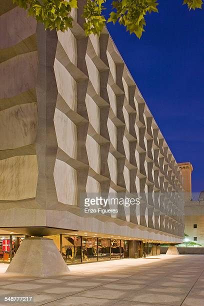 Yale University's Beinecke Rare Book and Manuscript Library. October 1, 2007