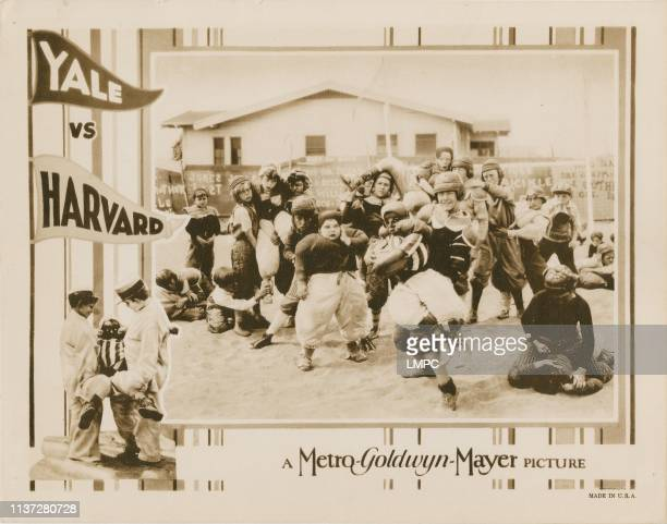 Yale Vs Harvard poster lobbycard Our Gang Jackie Condon Joe Cobb Allen 'Farina' Hoskins 1927
