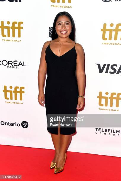 Yalitza Aparicio attends the 2019 Toronto International Film Festival TIFF Tribute Gala at The Fairmont Royal York Hotel on September 09, 2019 in...