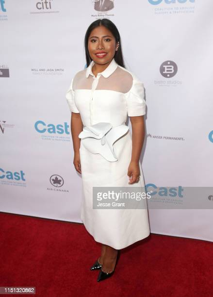 Yalitza Aparicio attends the 21st Annual From Slavery to Freedom Gala/Relentless Resilience at the California African American Museum on May 23 2019...