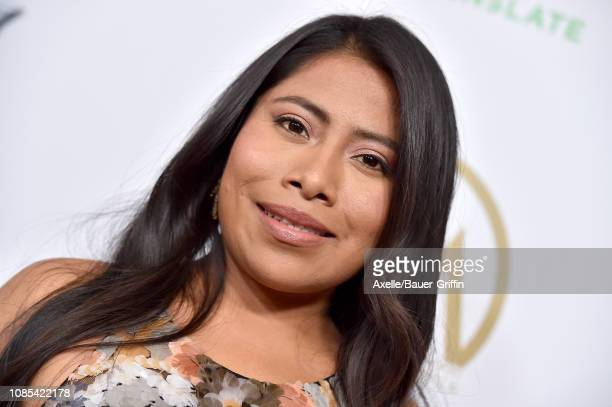 Yalitza Aparicio attends the 30th Annual Producers Guild Awards at The Beverly Hilton Hotel on January 19 2019 in Beverly Hills California