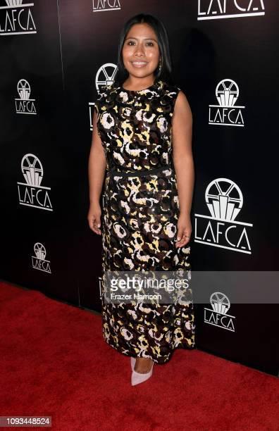 Yalitza Aparicio attends the 44th Annual Los Angeles Film Critics Association Awards at the InterContinental Hotel on January 12 2019 in Century City...