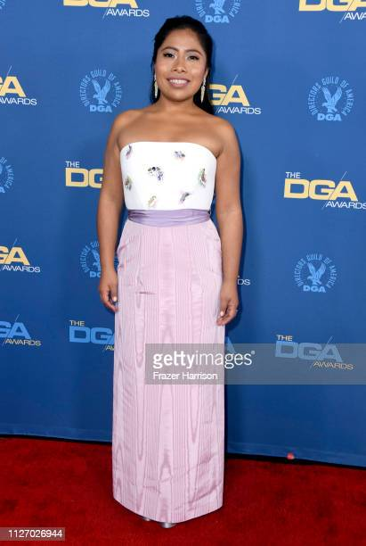 Yalitza Aparicio attends the 71st Annual Directors Guild Of America Awards at The Ray Dolby Ballroom at Hollywood Highland Center on February 02 2019...