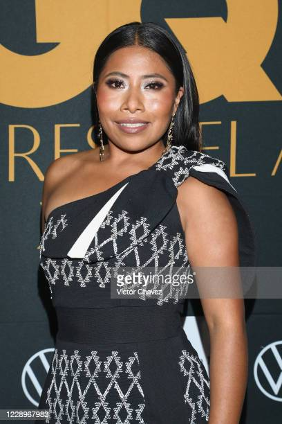 Yalitza Aparicio attends the black carpet of the GQ Men of the Year 2020 at Sofitel Mexico City on October 8, 2020 in Mexico City, Mexico.