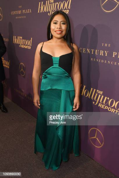 Yalitza Aparicio attends The Hollywood Reporter's 7th Annual Nominees Night presented by MercedesBenz Century Plaza Residences and Heineken USA at...