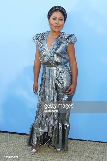 Yalitza Aparicio attends the Michael Kors S/S 2020 Fashion Show at Duggal Greenhouse on September 11 2019 in Brooklyn New York