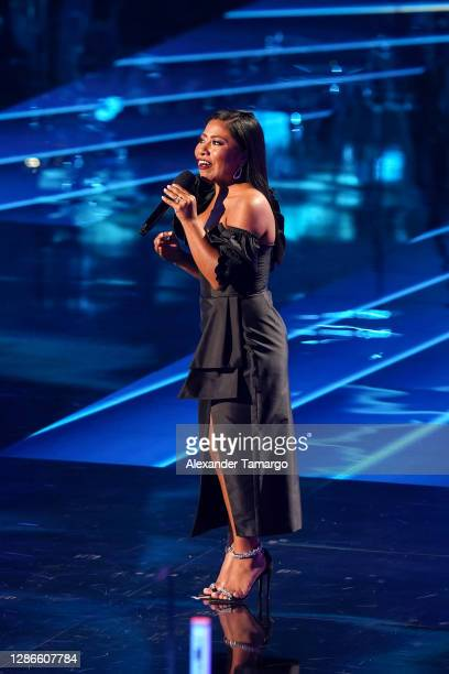 Yalitza Aparicio performs onstage during The 21st Annual Latin GRAMMY Awards at American Airlines Arena on November 19, 2020 in Miami, Florida.
