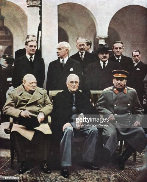 Yalta Conference Stock Photos And Pictures Getty Images