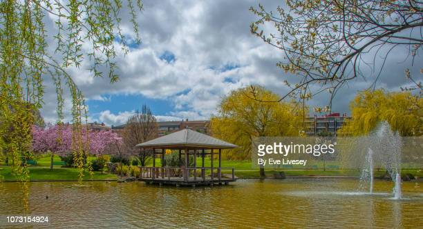 yamaguchi park - pamplona stock pictures, royalty-free photos & images