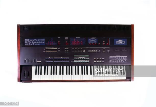 Yamaha DX1 FM synthesizer.