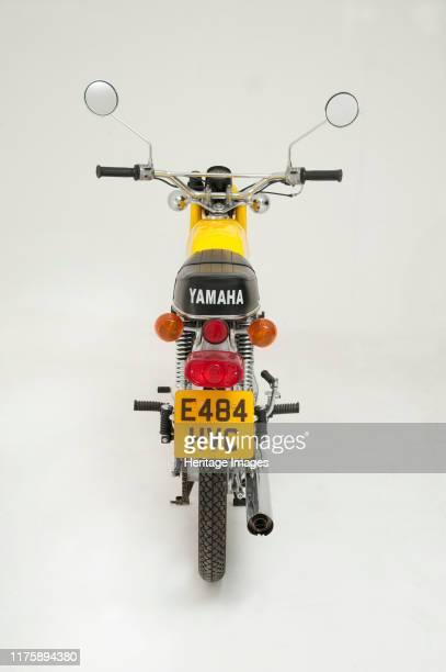 Yamaha FS1E moped.