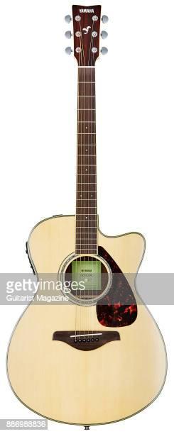 A Yamaha FSX830C electroacoustic guitar taken on September 20 2016