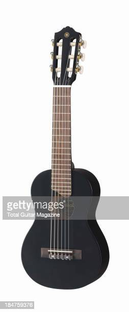 A Yamaha GL1 Guitalele photographed on a white background taken on March 13 2013