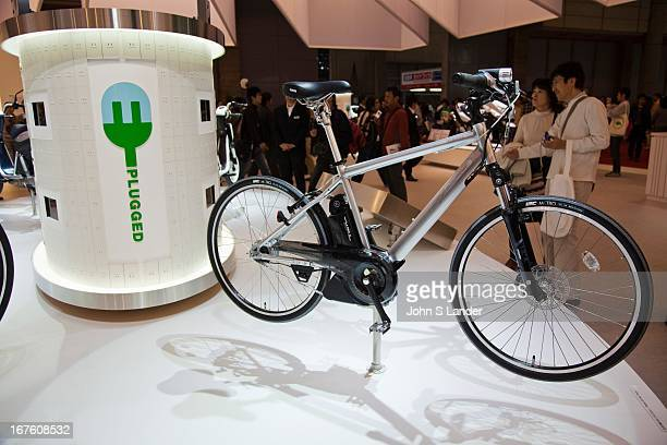 Yamaha unveils new electric bikes at the Tokyo Motor Show a biennial auto show held in October or November at the Makuhari Messe event space in Japan...