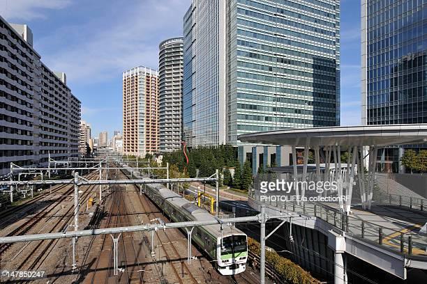JR Yamanote line, Shinagawa ward, Tokyo Prefecture, Honshu, Japan