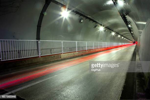 Yamate Tunnel, long exposure