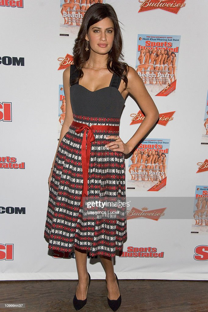 Yamila Diaz-Rahi during 2006 Sports Illustrated Swimsuit Issue Press Conference at Crobar in New York City, New York, United States.