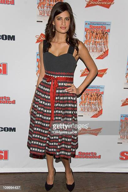 Yamila DiazRahi during 2006 Sports Illustrated Swimsuit Issue Press Conference at Crobar in New York City New York United States