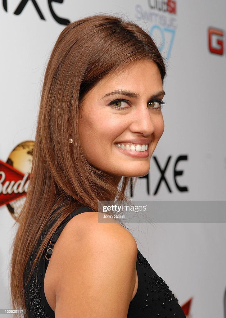 Yamila Diaz-Rahi during 2007 Sports Illustrated Swimsuit Issue - Red Carpet at Pacific Design Center in Los Angeles, California, United States.