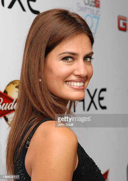Yamila DiazRahi during 2007 Sports Illustrated Swimsuit Issue Red Carpet at Pacific Design Center in Los Angeles California United States