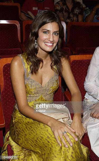Yamila DiazRahi during MTV Video Music Awards Latinoamerica 2002 Backstage and Audience at Jackie Gleason Theater in Miami Florida United States