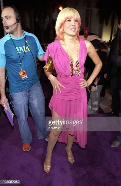 Yamila DiazRahi during MTV Video Music Awards Latinoamerica 2002 Arrivals at Jackie Gleason Theater in Miami Florida United States
