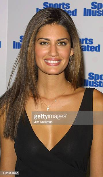 Yamila DiazRahi during Sports Illustrated 2002 Swimsuit Issue Launch at Hammerstein Ballroom in New York New York United States