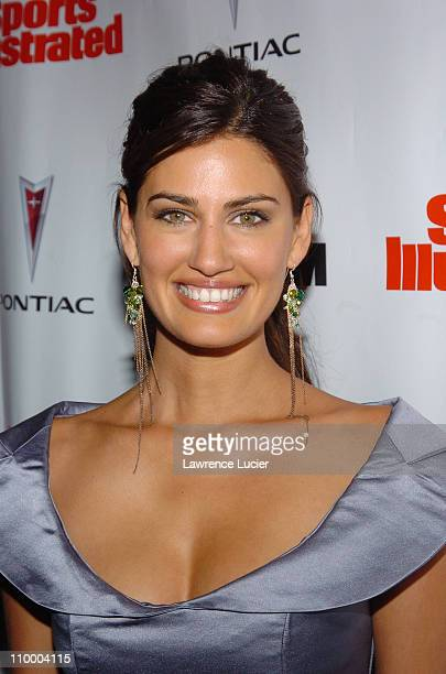 Yamila DiazRahi during Sports Illustrated 2005 Swimsuit Issue Press Conference at AER Lounge in New York City New York United States