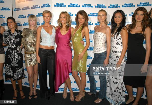 Yamila DiazRahi Melissa Keller Sarah O'Hare Molly Sims Petra Nemcova cover model of the 2003 Sports Illustrated swimsuit issue Daniela Pestova Audrey...